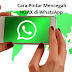 Cara Pintar Mencegah HOAX di WhatsApp