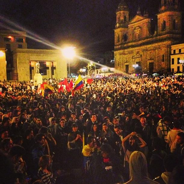 Strejken sprids i colombia