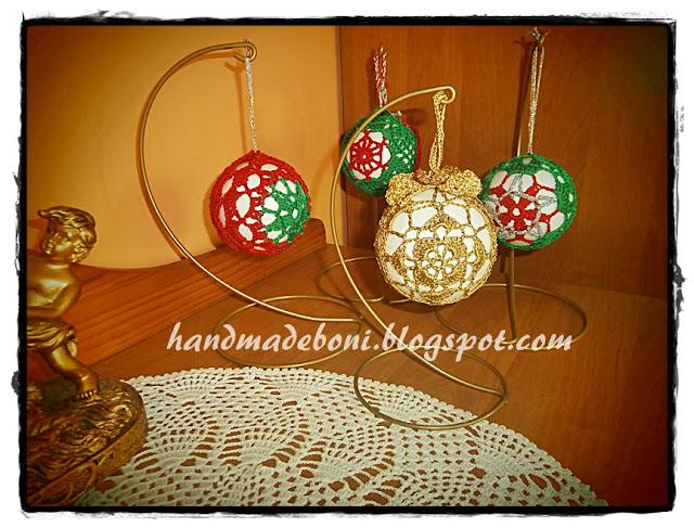 Styropianowe kule w szydełkowych dekoracjach. Zrób razem ze mną :-)