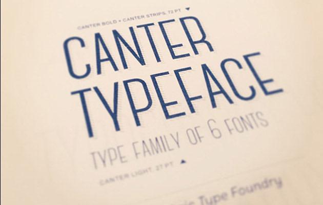 Download Font Terbaru dan Terbaik Januari 2016 - Canter Typeface