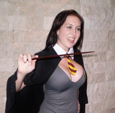 harry potter cosplay girl breasts