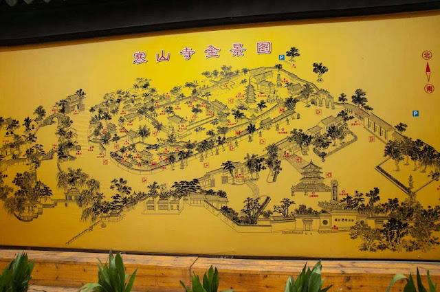 Mapa Suzhou