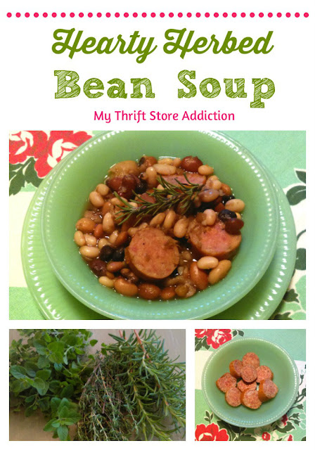 hearty herbed bean soup