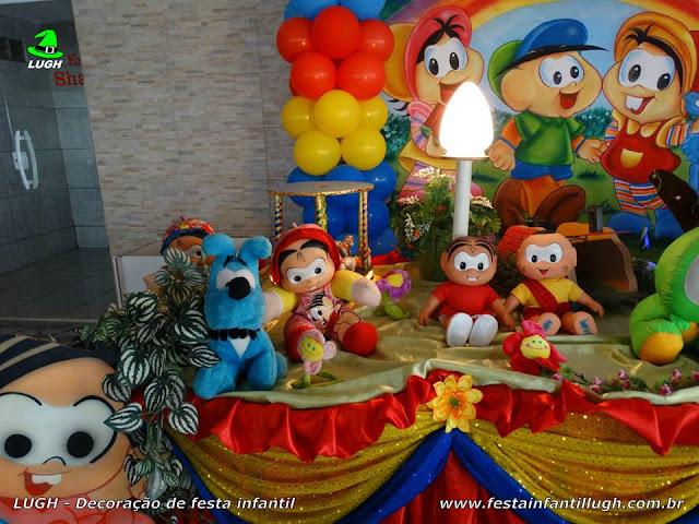 Festa infantil Turma da Mônica - Decoração tradicional luxo