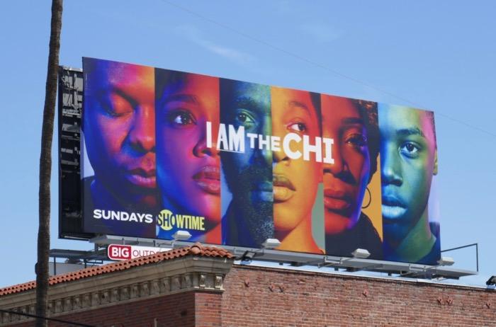I am The Chi season 2 billboard