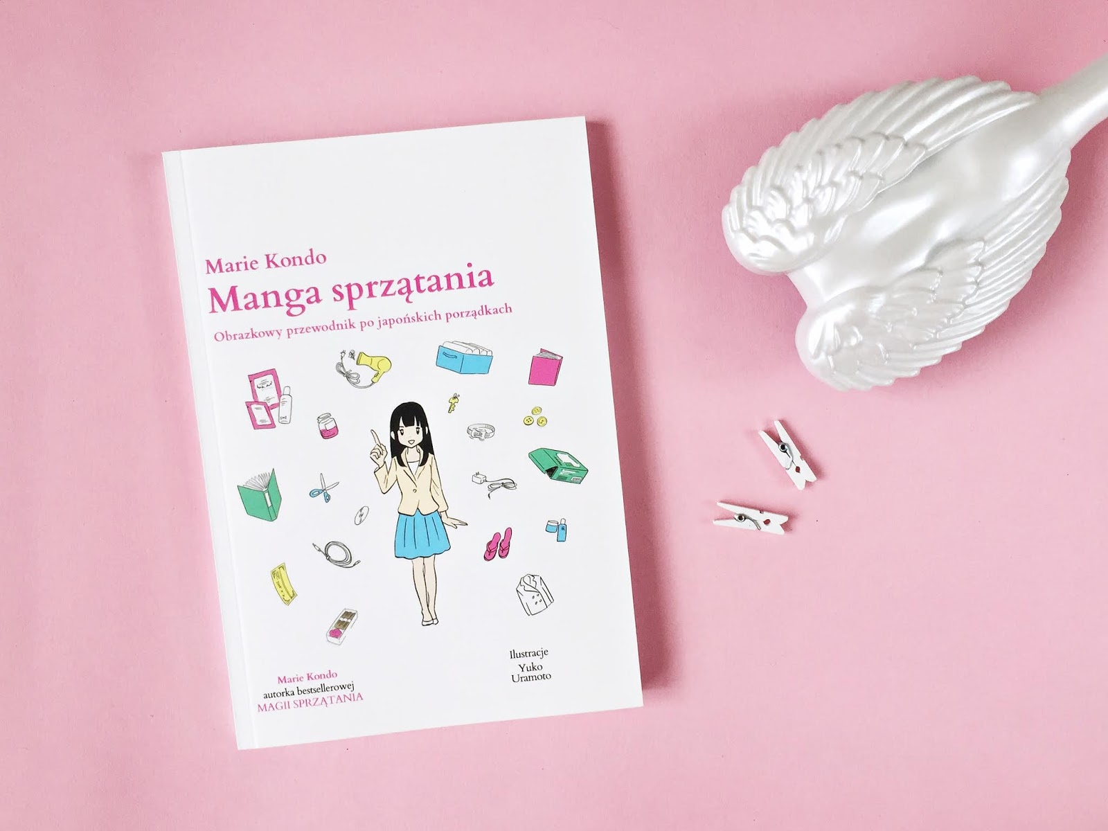 """""""Manga sprzątania"""" marie kondo"""