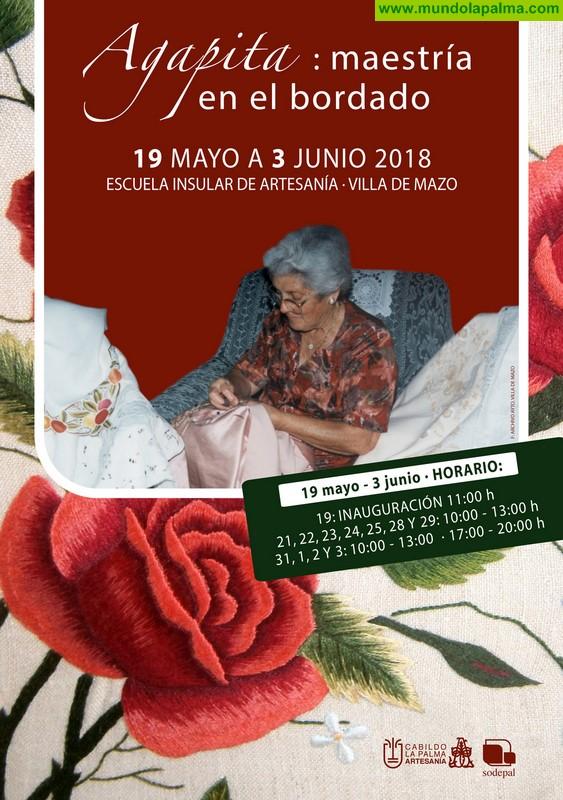 El Cabildo homenajea a la maestra bordadora Agapita Hernández, con una muestra sobre su vida y trabajos