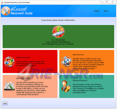 Lazesoft Recovery Suite Unlimited 4.2.3.1 Full Version