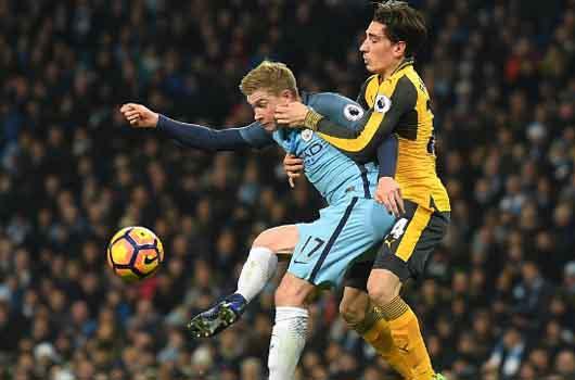 Arsenal chia điểm với Man City: Nỗi thất vọng từ tuyến dưới