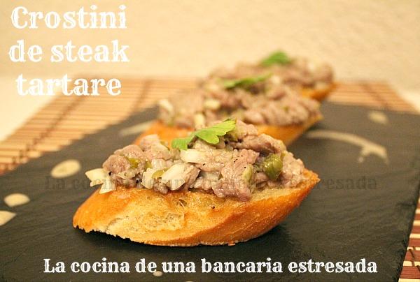 Receta steack tartar