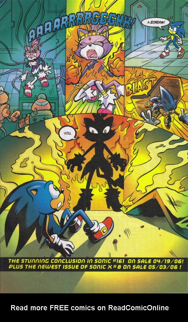 Read online Sonic The Hedgehog comic -  Issue #160 - 31