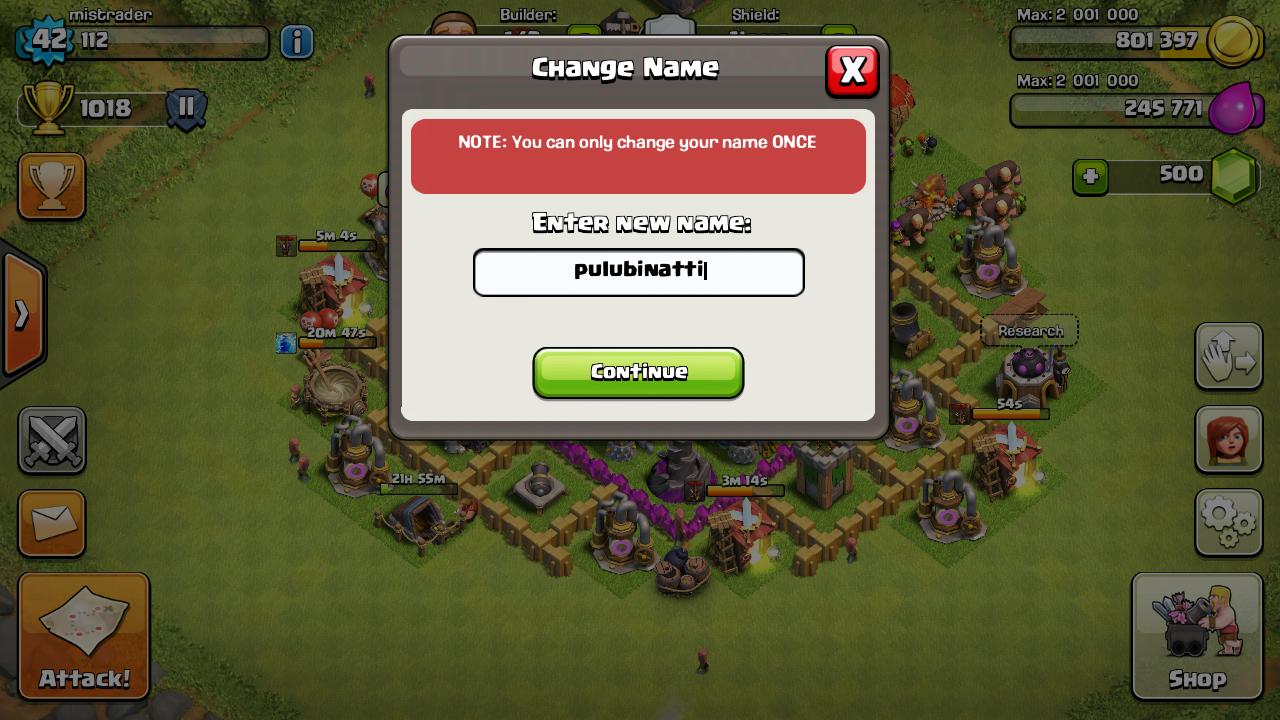 coc name change