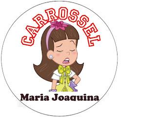 topper novela carrossel em desenho Maria Joaquina personagem de Letícia Manoela