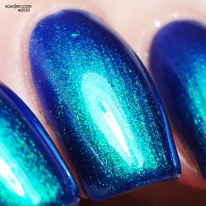 xoxoJen's swatch of KBShimmer The Tide Is Right