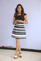 Actress Mi Rathod Pos Black Short Dress at Howrah Bridge Movie Press Meet  0101.JPG