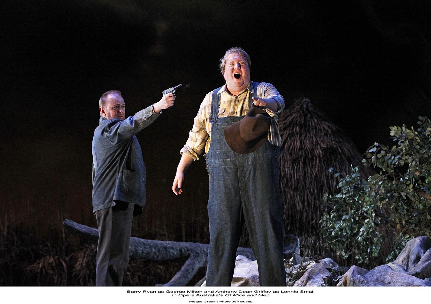james karas reviews and views of mice and men from opera  of mice and men from opera in melbourne