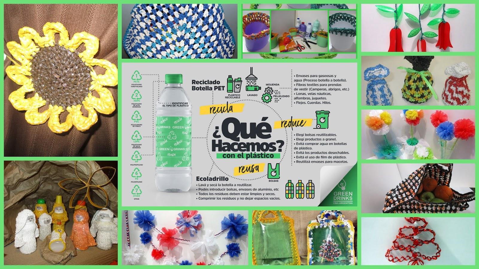 1 2 3 Creamos Otra Vez Ideas Para Reutilizar Plasticos Manualidades - Manualidades-creativas