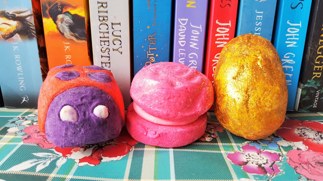Beauty | Mini Easter Lush Haul (Ladybird, Golden Egg & Rose Jam Bubbleroon)