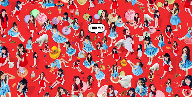 red velvet rookie members gif