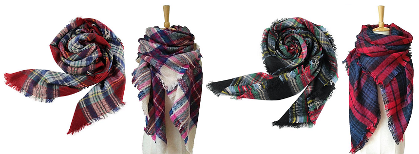 Lanzom Blanket Scarves for only $9 (reg $20)