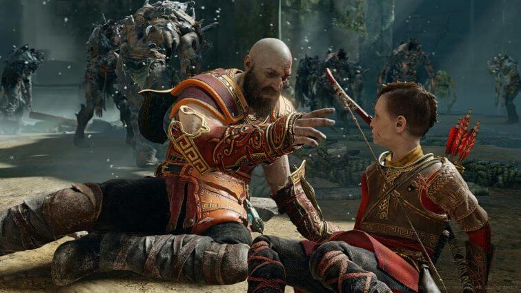 God Of War PS4's New Game Plus Update Is Live On PSN