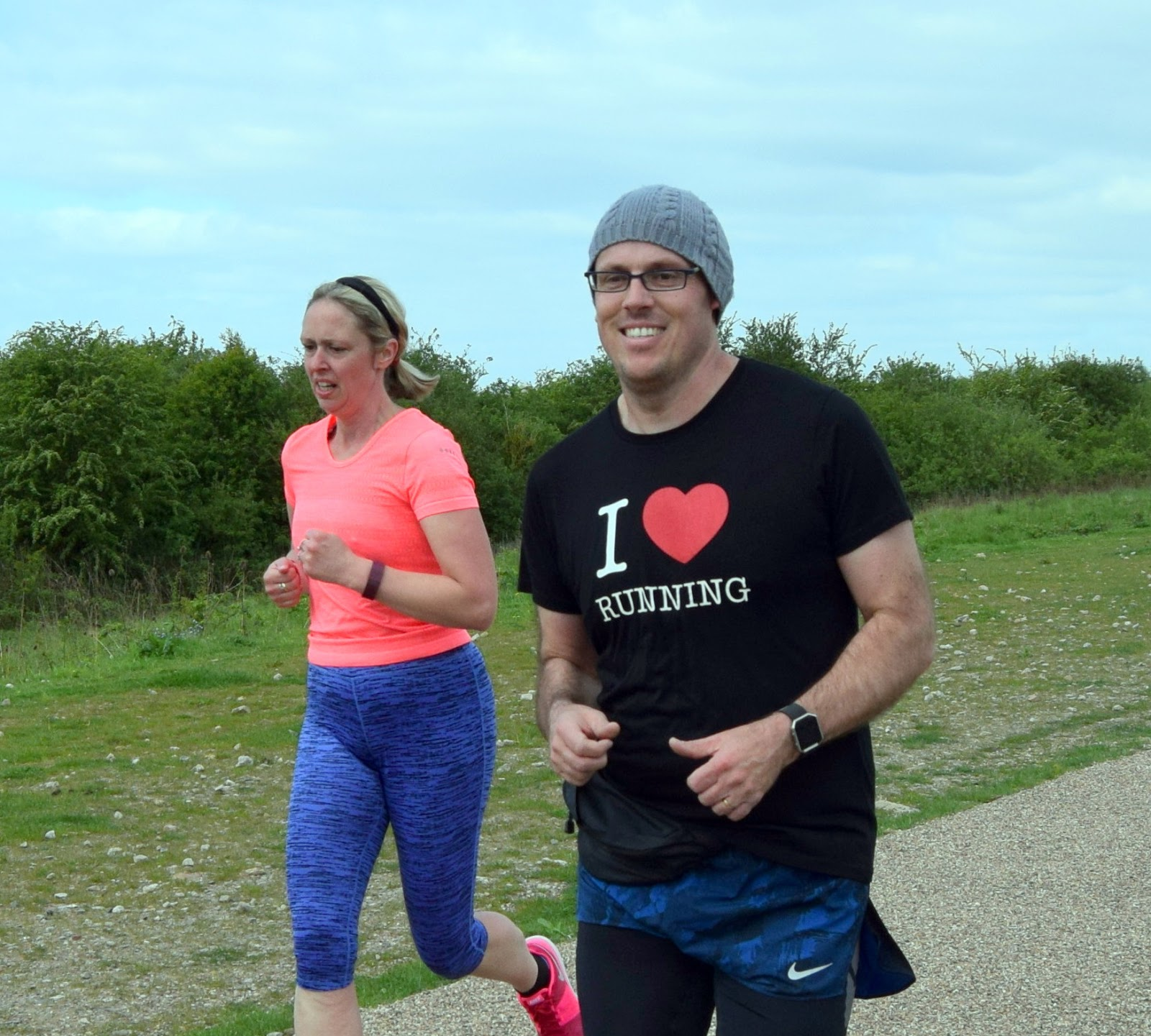 I love running t-shirt!!