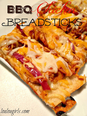 BBQ Chicken Breadsticks recipe