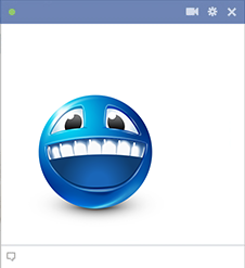 Big grin Facebook Smiley