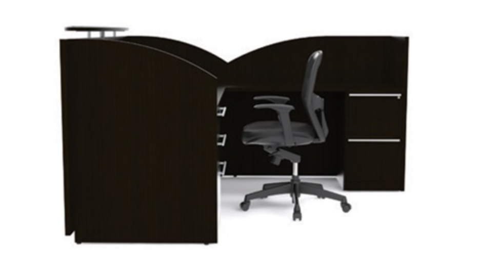 Cherryman Verde Modern Executive Reception Desk