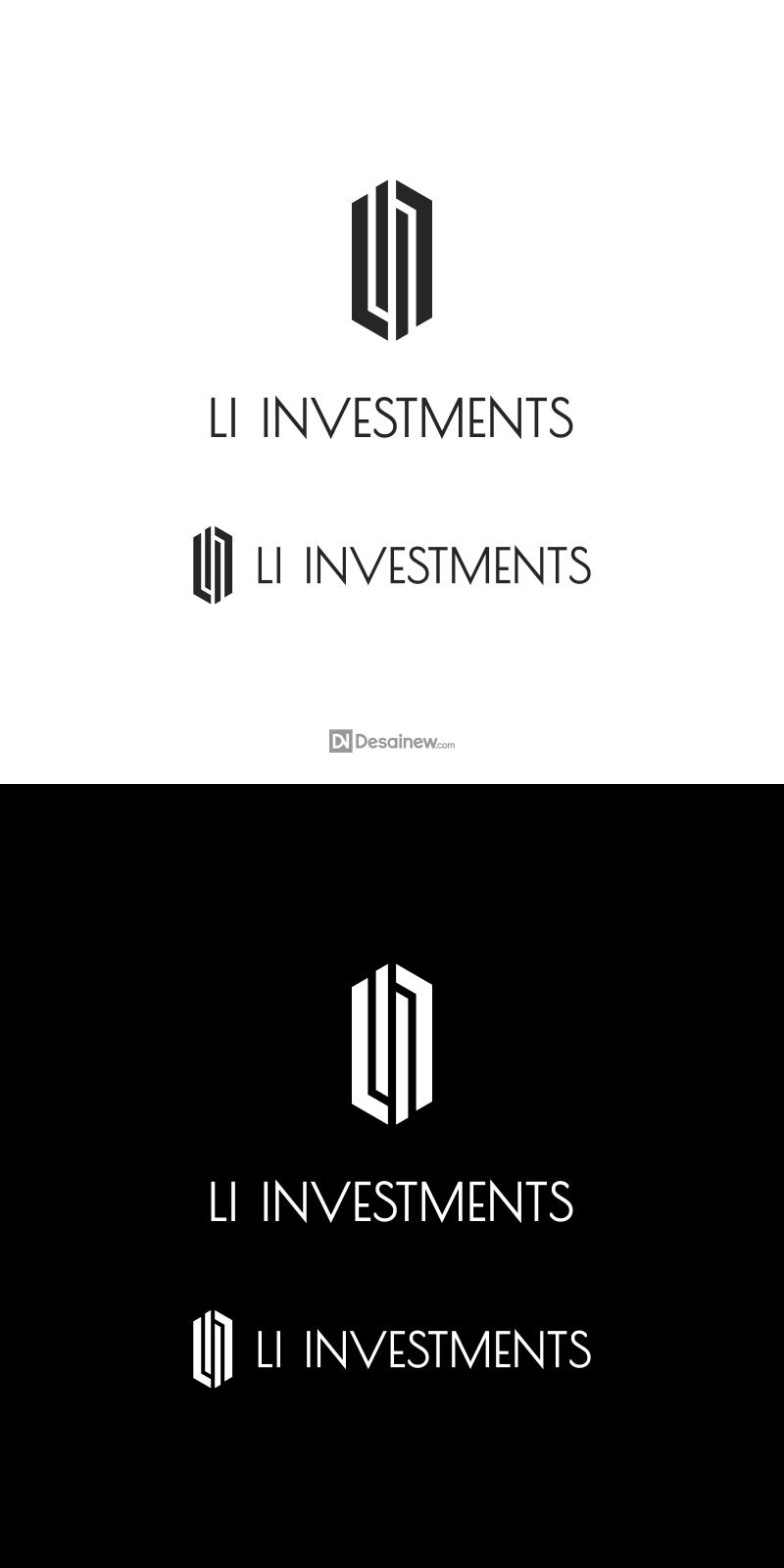LI Investments Logo Design Project Portfolio Desainew Studio