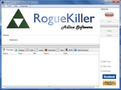 RogueKiller Anti-malware-Free Version