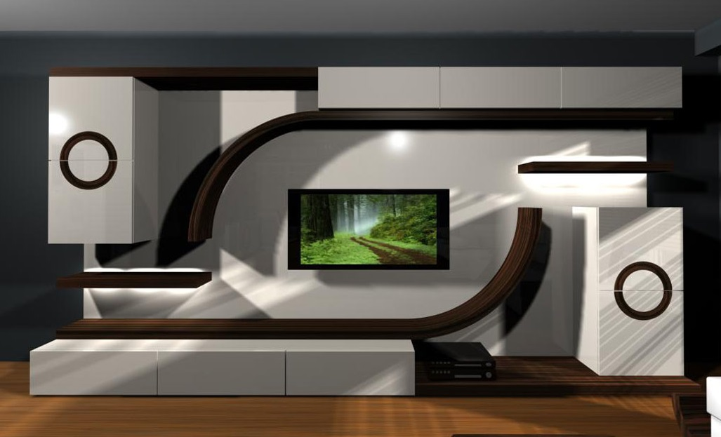 . Latest 40 Modern tv wall units   TV cabinet designs for living rooms