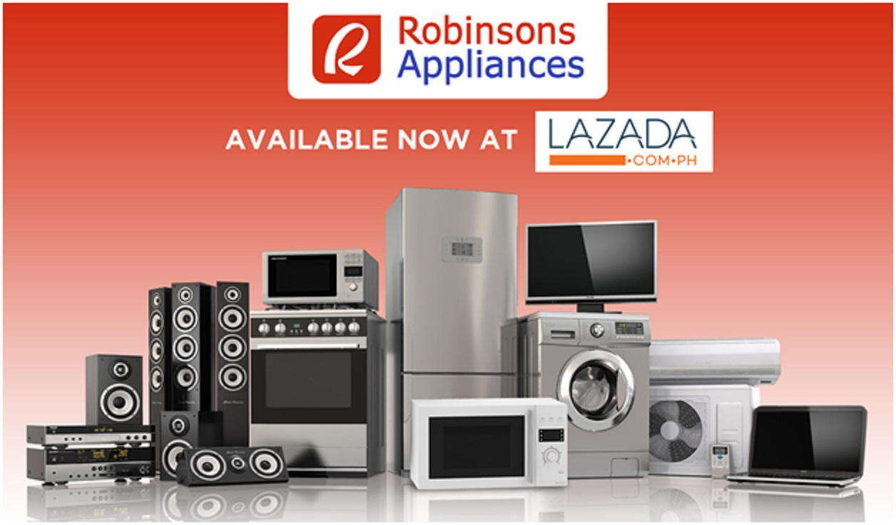 Robinson's Appliances tandems with Lazada
