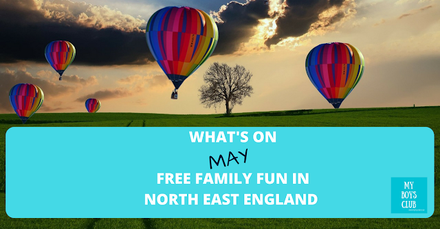 What's On in May - Free Family Fun in North East England