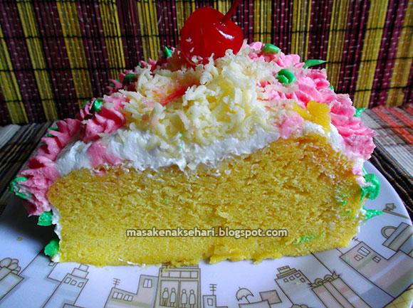 Resep Cake Kukus dan Tips Membuat Butter Cream Lembut