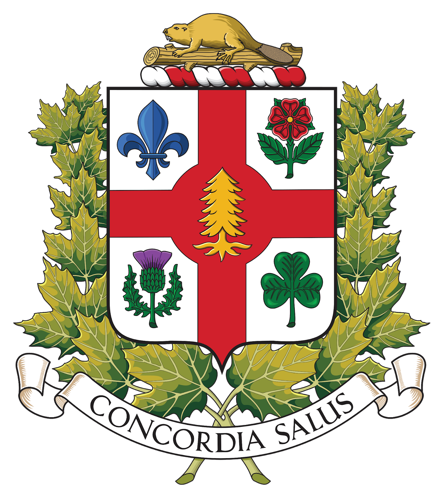Germnamur The Beaver As National Symbol Of Canada