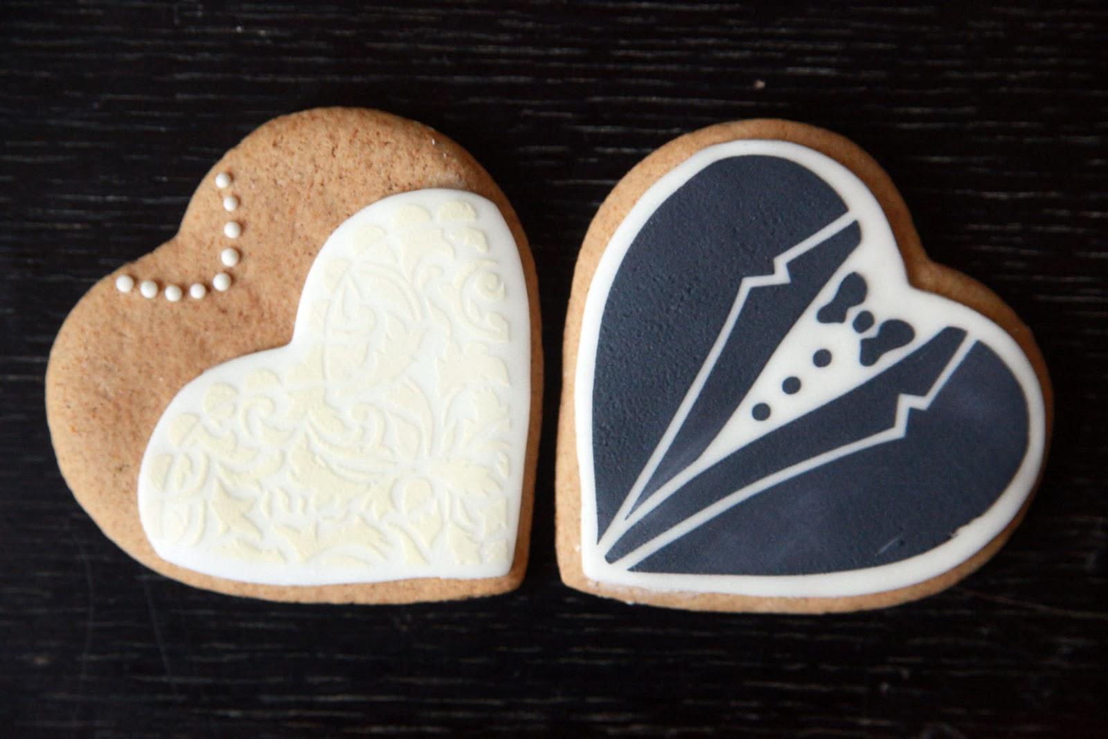 Braut und Brutigam Kekse mit Anleitung