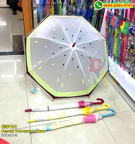 Payung Transparan Buah
