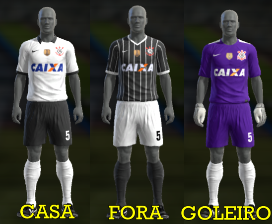 novo uniforme do corinthians para pes 2012