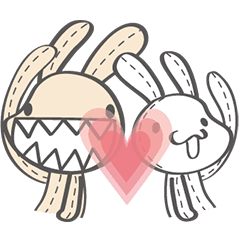 Foufou Bunny: All We Need Is Love
