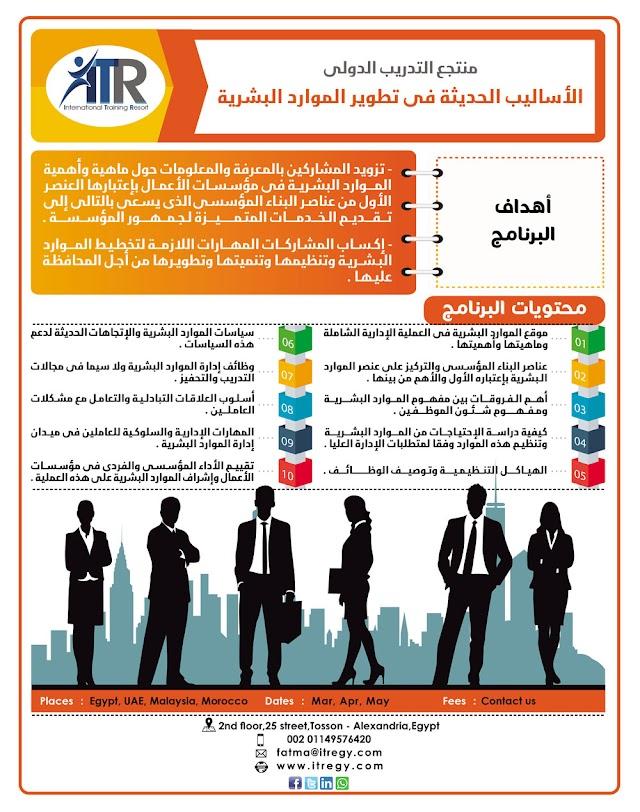 دورة: إدارة الجودة الشاملة للموارد البشرية