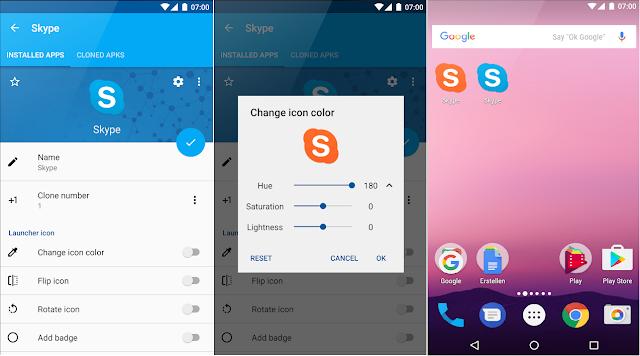 Screenshot App Cloner Premium