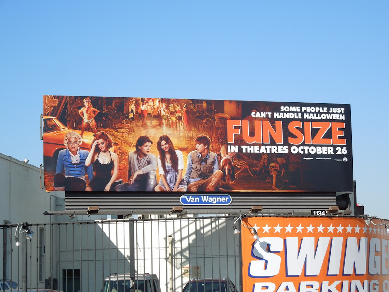Fun Size movie billboard
