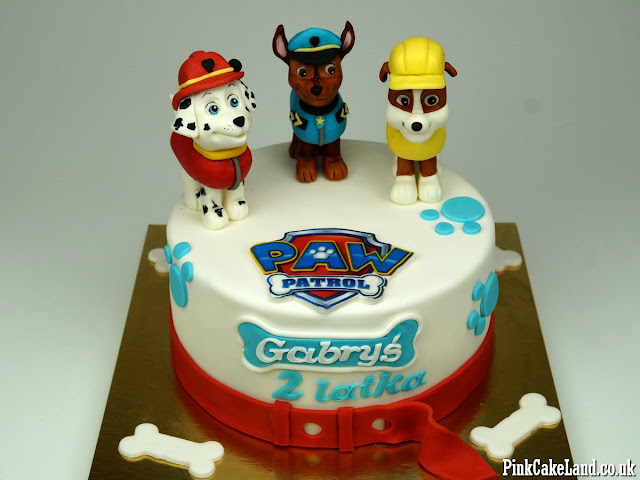 birthday cakes paw patrol london delivery