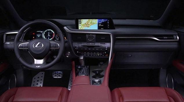 2017 Lexus RX350 Interior