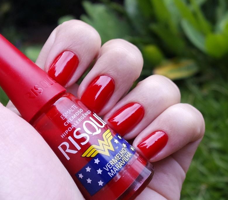 Esmalte Risqué: Vermelho Maravilha