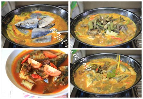 Resep Gulai Ikan Kembung dengan Batang Talas JTT