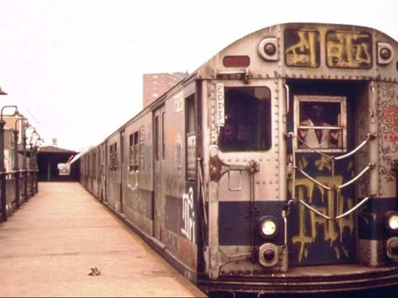 Pictures Of New York City Subway In The 1970s And 1980s