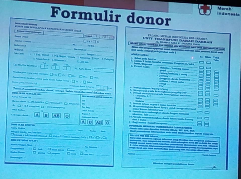 Pmi Sosialisasikan Donor Darah Kepada Mitra Pmi Dki Jakarta Bowo