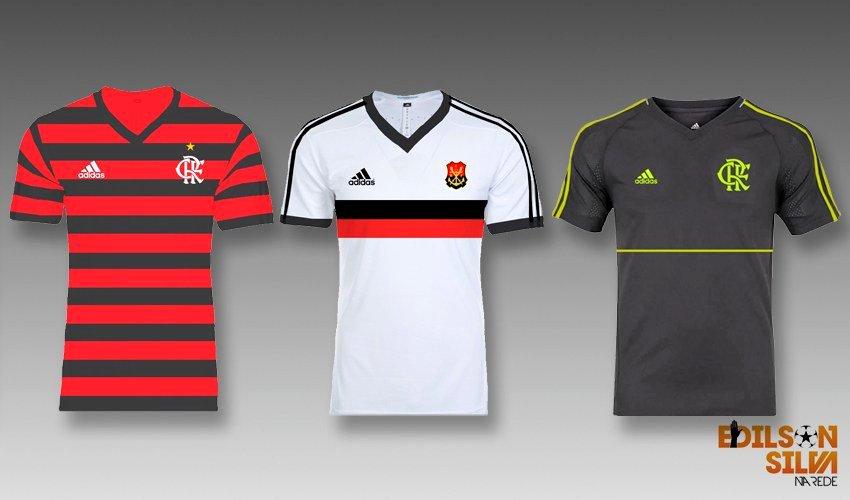Jornalista revela possíveis novos uniformes do Flamengo para 2019 ... ebaecf1405610